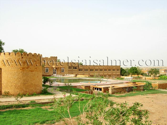 Hotel Himmatgarh Palace Jaisalmer India